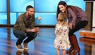 Little Mila Finally Meets Her Crush, Adam Levine