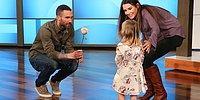 Little Mila Finally Meets Her Crush, Adam Levine