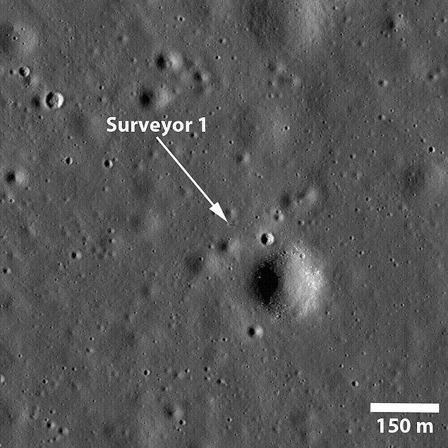 19. Surveyor 1'in Gölgesi