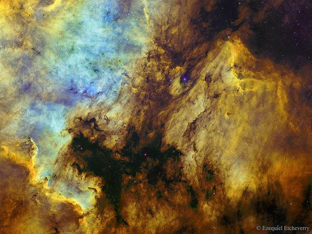 30. Kuzey Amerika ve Pelikan Bulutsuları