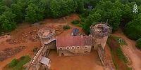 Во Франции строят средневековую крепость без каких-либо передовых технологий