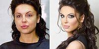 31 Unbelievable Before / After Make Up Photos