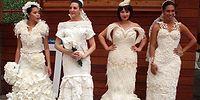 Топ-10 свадебных платьев из туалетной бумаги: 12-ый ежегодный конкурс