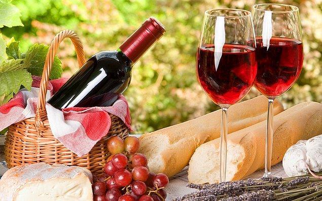 6. Fransa - Şarap