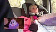 This Cute Little Girl Gets Emotional Watching Cartoons