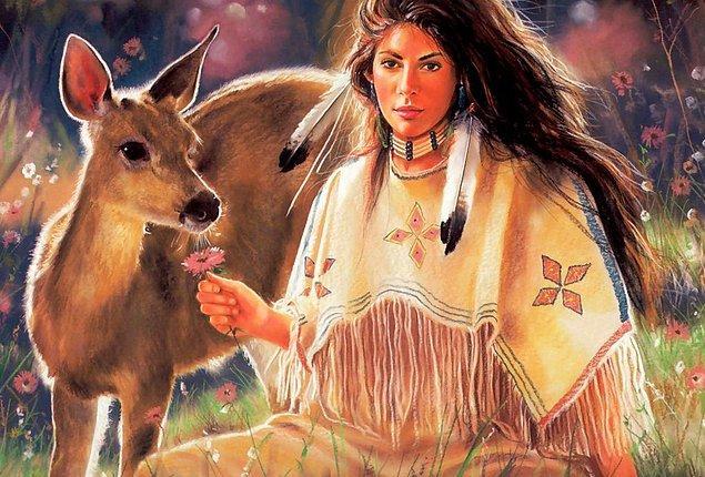 """5. """"Dünya üzerindeki her şeye saygıyla yaklaş. İnsan, hayvan ya da bitki ayırma, onlara farklı değerler verme."""""""