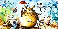 Акварельные рисунки персонажей Studio Ghibli от Луизы Терье