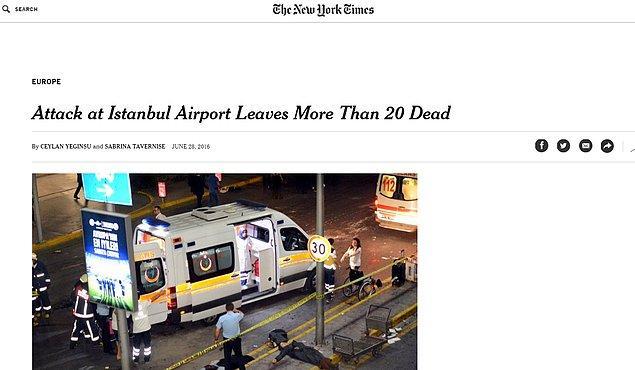 New York Times haberi ilk geçenlerden