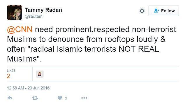 CNN'in haberine bir okur da şu tweetiyle yorum yaptı.