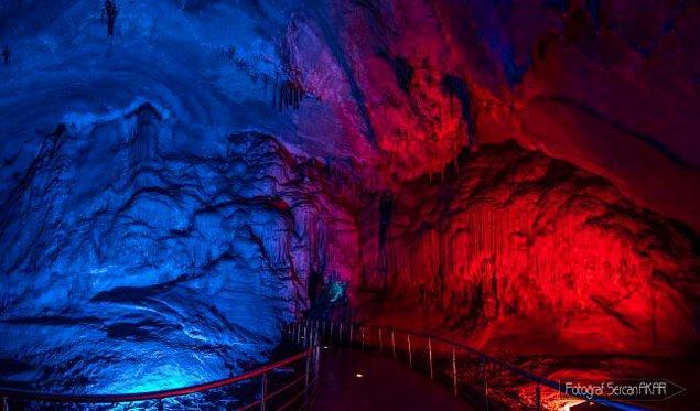 Gökgöl Mağarası, Zonguldak'ın en uzun ikinci, Türkiye'nin en uzun 11. mağarası...