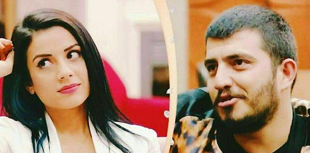 İkinci çift Nur Erkoç ve Batuhan Cimilli,