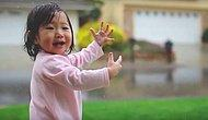 Cuteness Overload: 15-Months Old Baby Feels Rain For The First Time!