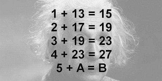 3. Aşağıda verilen işlemlerde B yerine hangisi gelmelidir?