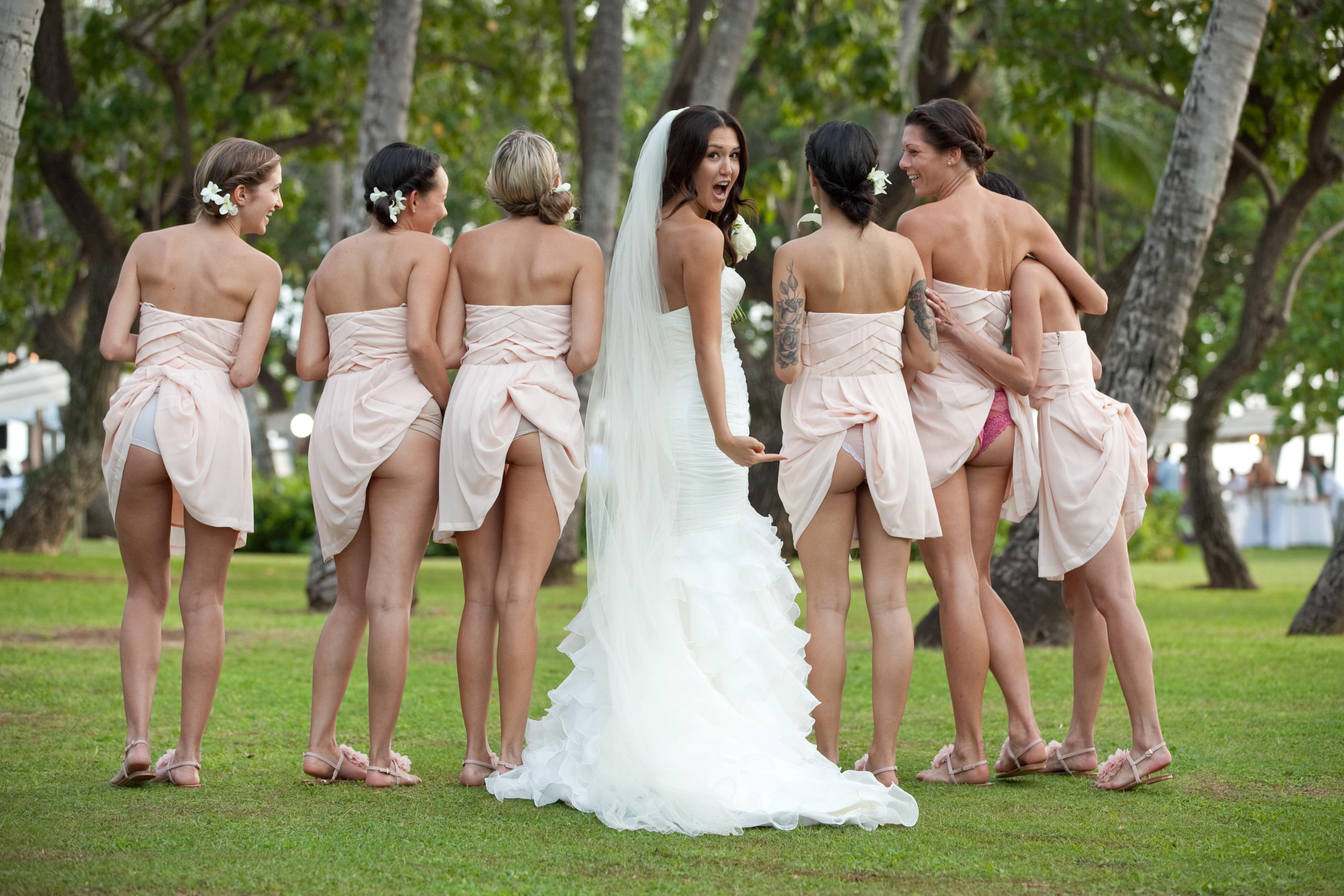 Подсмотрели на свадьбе видео