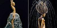 Когда вода и бронза сливаются воедино: волшебные фонтаны