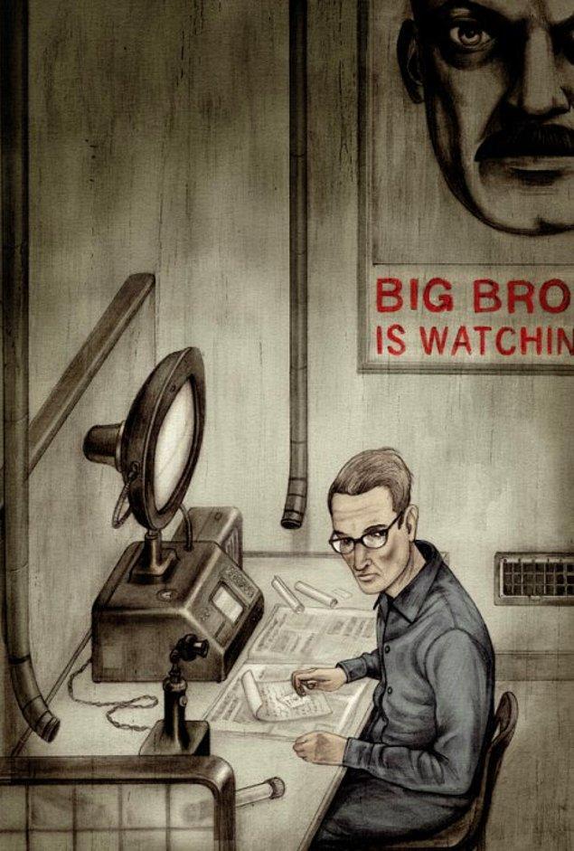 4. Orwell, kitabı yazdığı süreçte bir yandan da tüberküloz ile boğuşuyordu.
