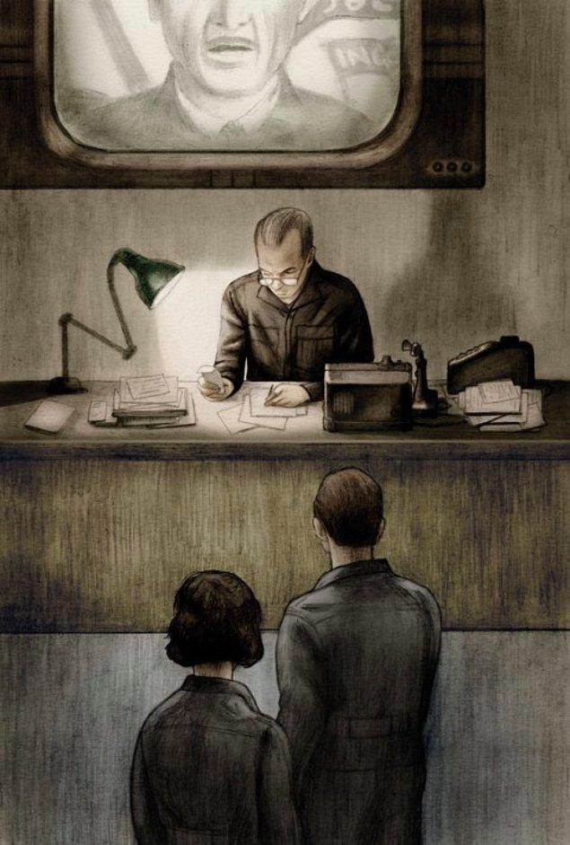 6. George Orwell, propaganda faaliyetlerini eleştireceği yapıtını yazmadan önce, BBC'de propagandist olarak çalışmıştı.