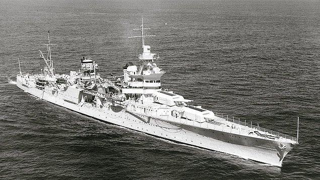 USS-İndianapolis CA35 Gemisi