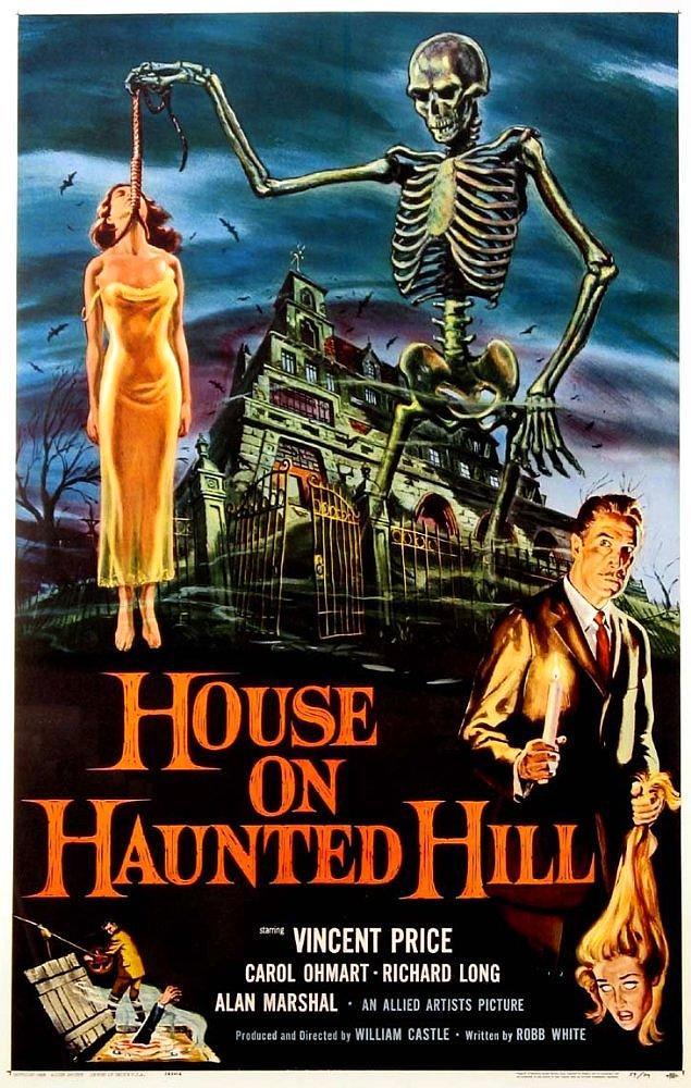 30. House On Haunted Hill ( Lanetli Tepe), 1959
