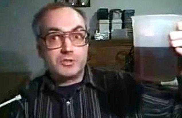 9. Buzlu çay yapımı mı korku filmi kuşağı mı olduğu belli olmayan bir video.