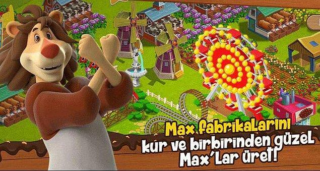 Bence bu işi önce fabrikasında bir denemelisin. Aslan Max'ın Dondurma Fabrikası'nın kapıları sana sonuna kadar açık.