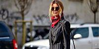 Шейные платки возвращаются: они снова в моде
