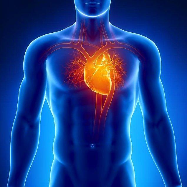 6. Aslında kalp atışlarının hızlanması gayet sağlıklı bir durum, ancak işin içine yüksek stres seviyesi eklenince asıl tehlike başlıyor.
