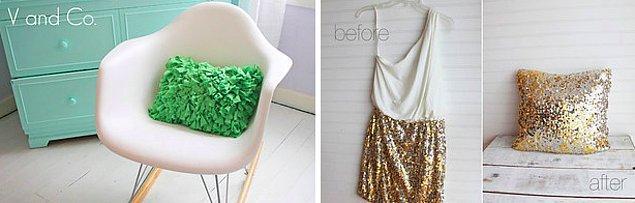 7. Eskiyen kıyafetleri atmadan düşünün!