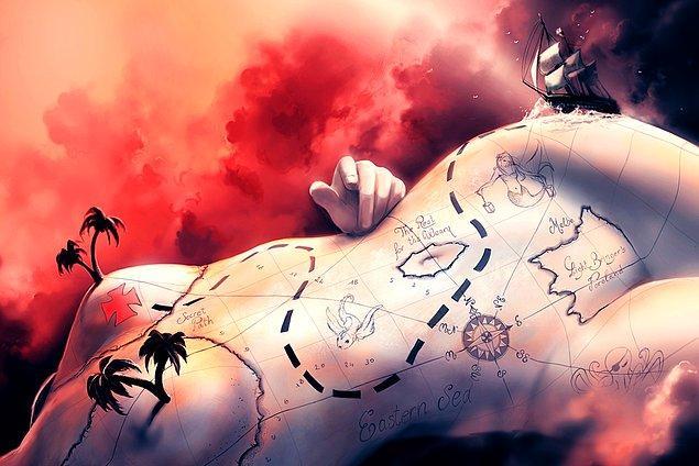 5. Sanatçı sıra dışı hayal gücüyle resmettiği sürrealist eserleriyle tanınıyor.