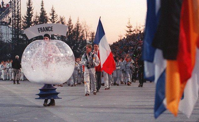 3. Bu manzara da 1992 Fransa Kış Olimpiyatları'ndan