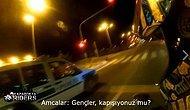 Keşke Tüm Amcalar Böyle Olsa: Polisten Motorlu Gençlere 'Kapışıyoruz mu?' Sorusu