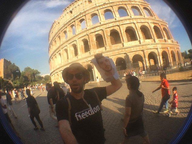 Selfiesiz gezi olmaz