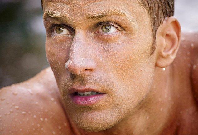 9. Yüzücü iyidir; İtalyan ise daha da iyidir! Luca Dotto!