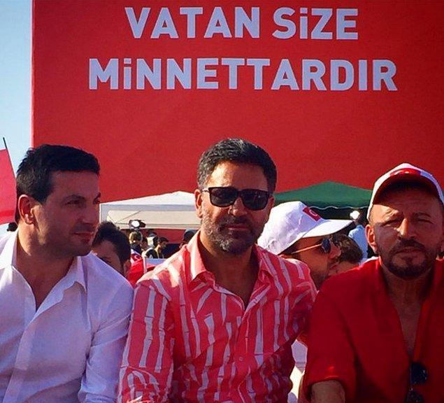 Davut Güloğlu, İzzet Yıldızhan ve Mustafa Topaloğlu