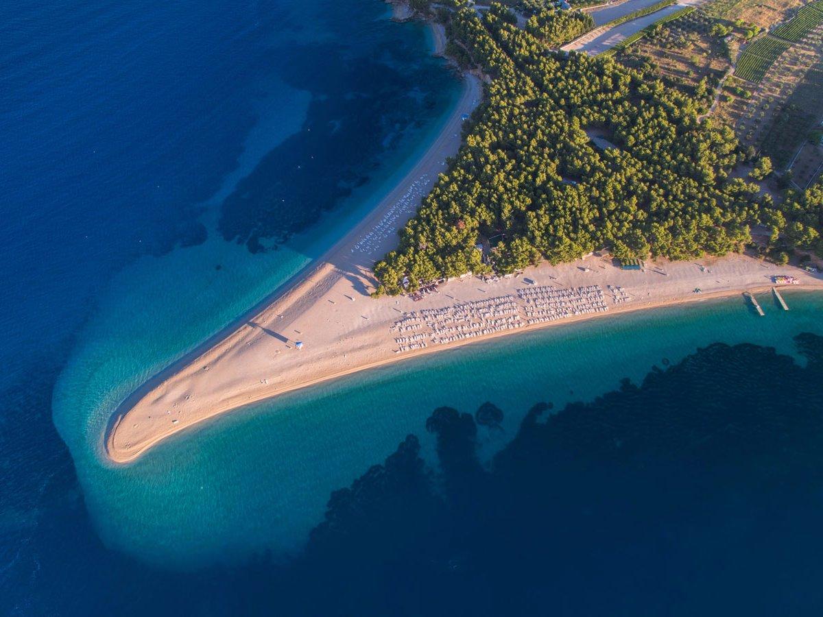 пляж золотой рог в хорватии фото скорого заживления