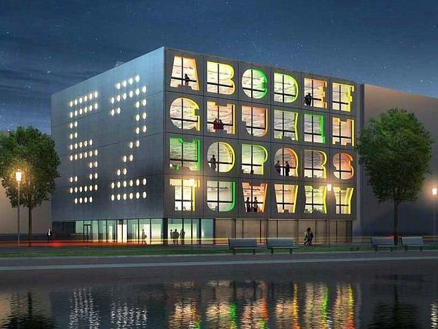 6. Alfabe Binası, Hollanda