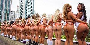 """В Бразилии прошел конкурс на самые красивые ягодицы """"Мисс Бум-Бум-2016"""""""