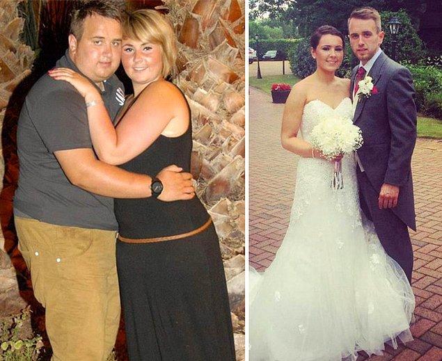 Они сбросили на двоих 30 кг, чтобы выглядеть прекрасно на собственной свадьбе