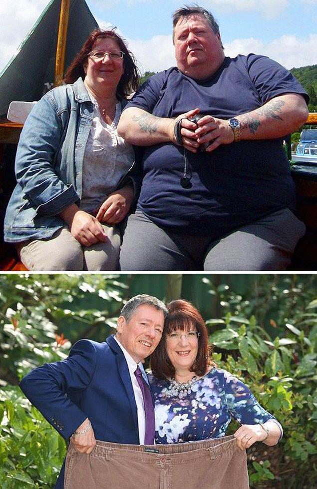 Они смогли избавиться от 139 килограммов на двоих