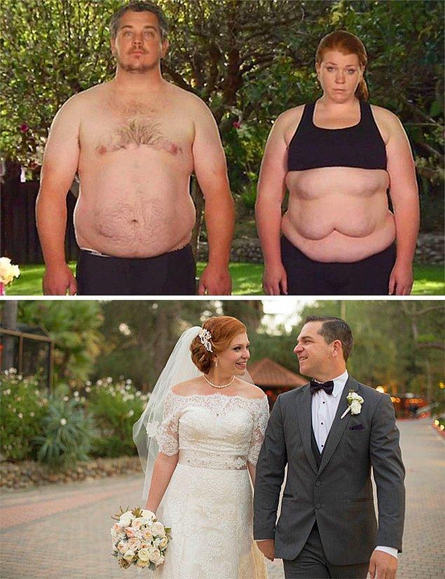 Вместе они сбросили 85 кг!