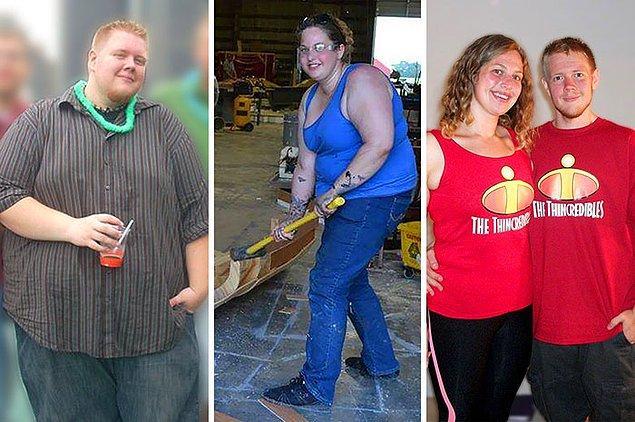 Они смогли похудеть на целых 149 кг!