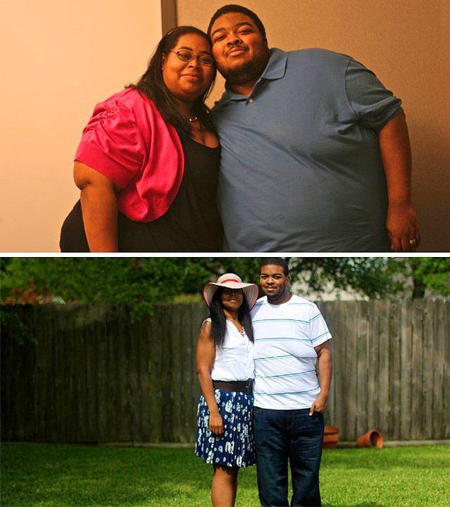 За два года они потеряли 227 кг на двоих!