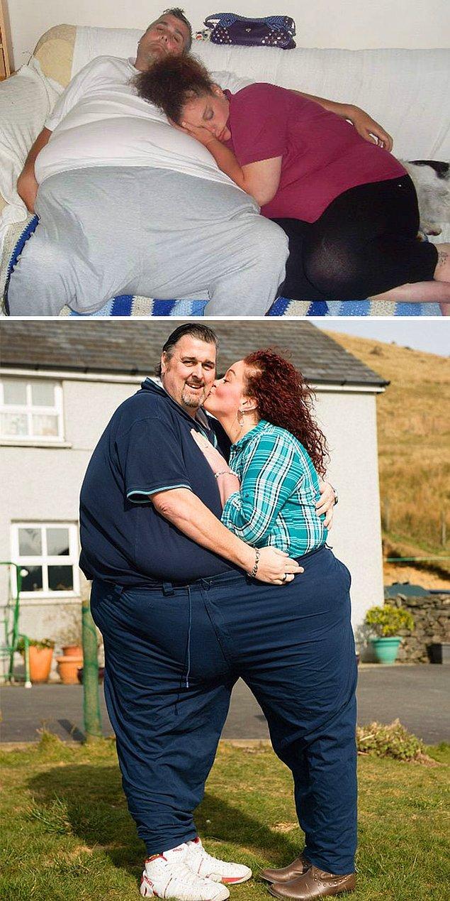 Эта пара смогла избавиться от 234 кг вместе!