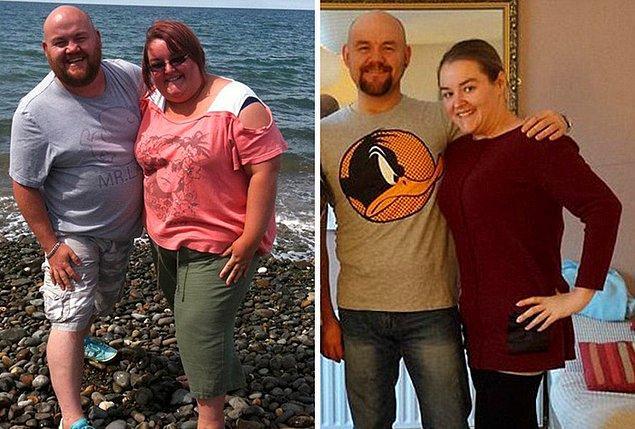 Эта парочка смогла сбросить внушительный вес после того, как врачи сказали им, что они умрут, если не сядут на диету