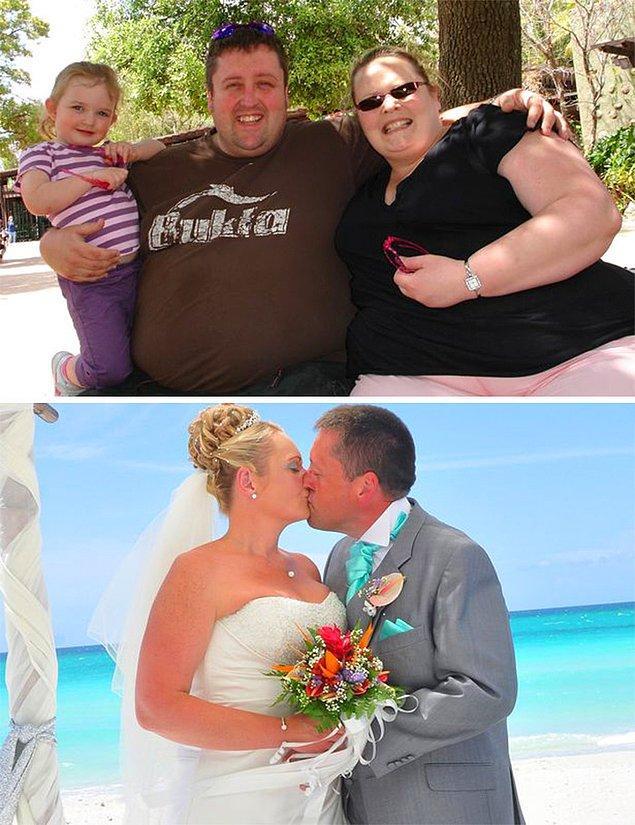 Чтобы пожениться и выглядеть красиво на своей свадьбе, они похудели вместе