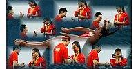 Китайский спортсмен сделал предложение любимой прямо на Олимпиаде в Рио