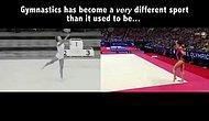 Какие изменения произошли в гимнастике за все время ее существования