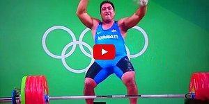 Неунывающий тяжелоатлет повеселил весь Рио