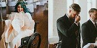 Парализованная невеста удивила всех, встав с кресла и пойдя к алтарю