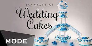 Как менялись свадебные торты на протяжении последних 100 лет